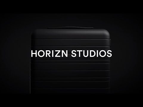 Cabin Luggage Model H - Black | Horizn Studios