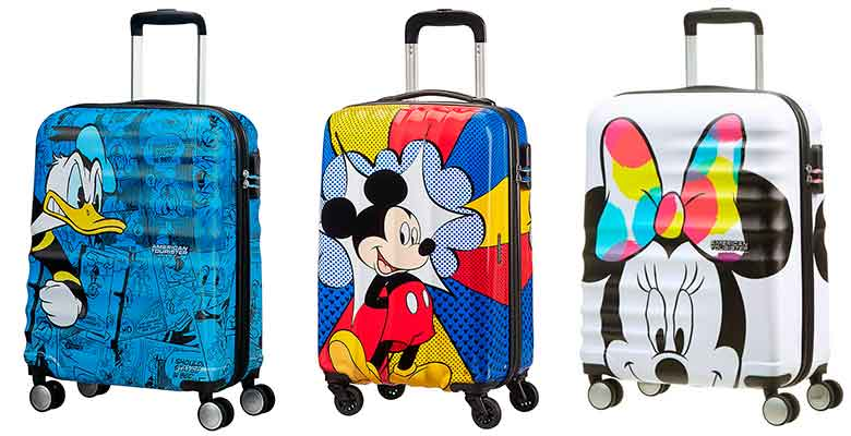 Maletas originales de Disney - American Tourister