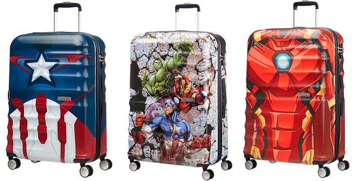 Maletas grandes con diseños de Marvel - American Tourister Wavebreaker