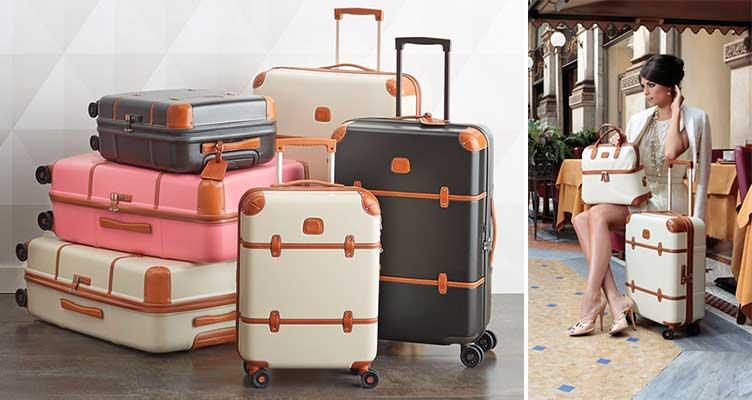 La mejor maleta de lujo con acabados clásicos - Bric's Bellagio