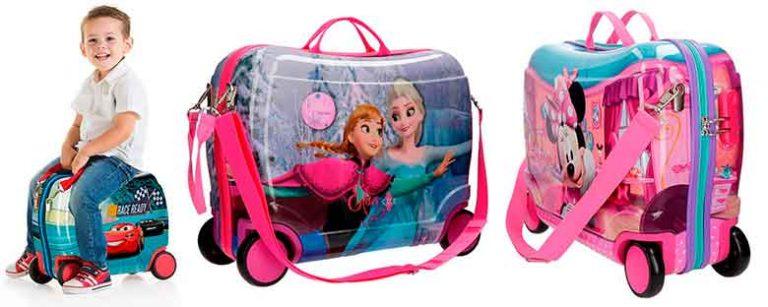 Maletas correpasillos de Disney para niños y niñas