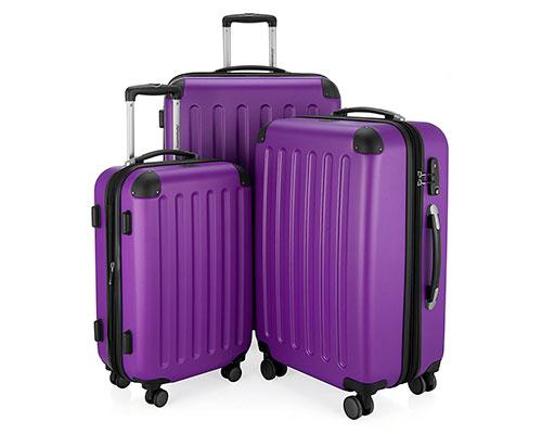 Juego de 3 maletas rígidas con 4 ruedas y gran relación calidad-precio | Hauptstadtkoffer Spree