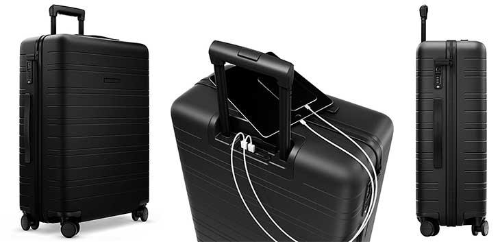 Trolley inteligente mediano con 2 puertos USB - Horizn Studios Model H