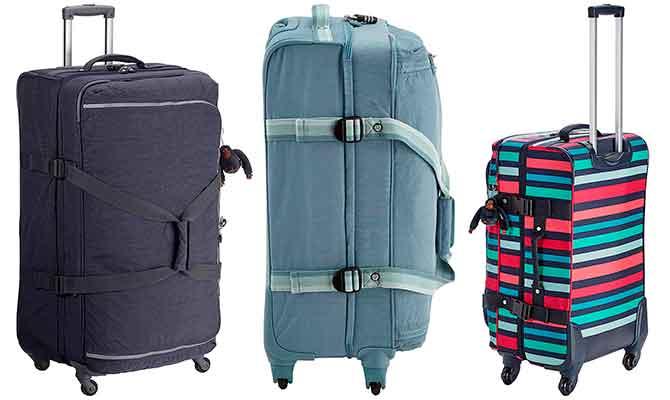 Bolsa de viaje con 4 ruedas y diseño juvenil - Kipling Cyrah