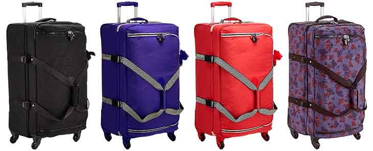 Bolsa de viaje grande con 4 ruedas y diseño juvenil - Kipling Cyrah L