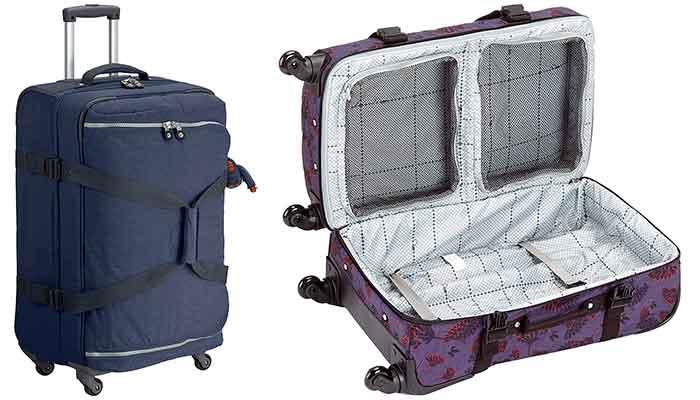 La mejor bolsa de viaje de 4 ruedas - Kipling Cyrah