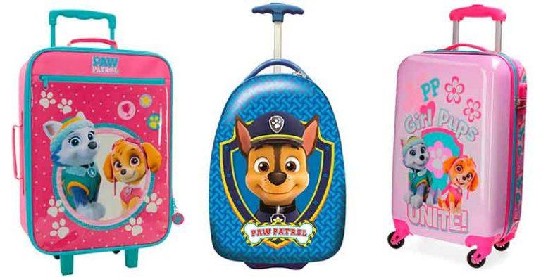 Maletas infantiles de La Patrulla Canina - para niños y niñas