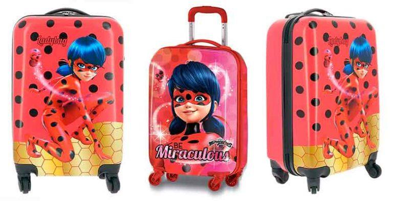 Maletas infantiles con diseños de Prodigiosa: Ladybug - para niñas y niños