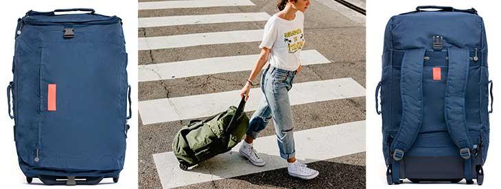 Híbrido maleta-mochila ecológica - Lefrik