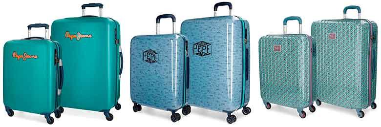 Juegos de maletas con diseños originales - Pepe Jeans