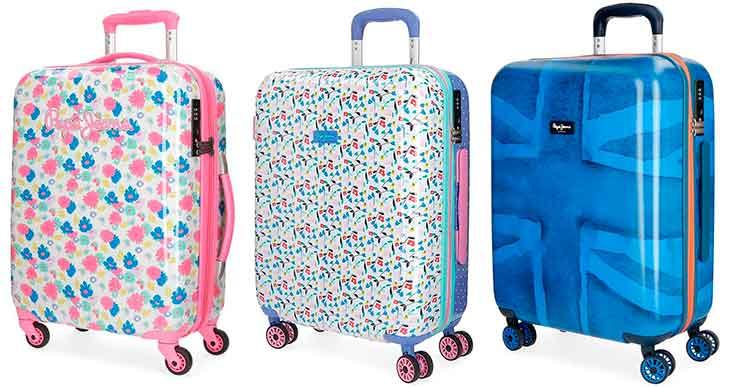 Maleta de cabina con diseño colorido y original - Pepe Jeans