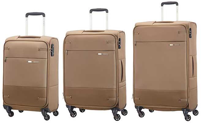 Juego de 3 maletas blandas con gran relación calidad-precio - Samsonite Base Boost Spinner
