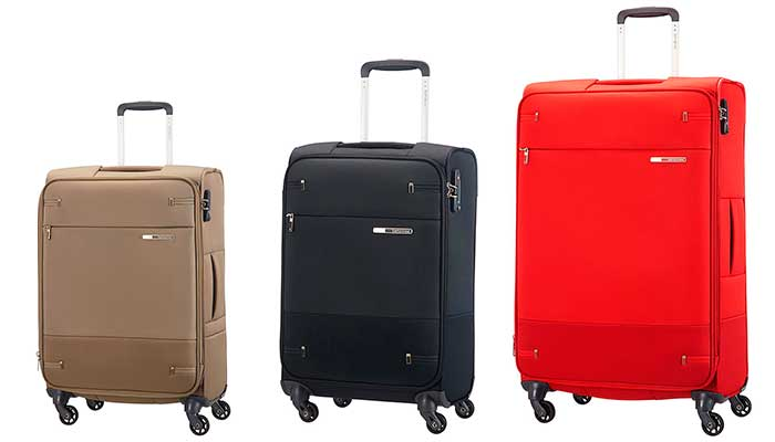 Trolley blando de 4 ruedas con gran nivel de calidad - Samsonite Base Boost Spinner