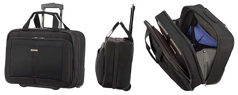 Maleta de cabina tipo piloto para portátil y equipaje - Samsonite Guardit 2.0 Rolling Tote