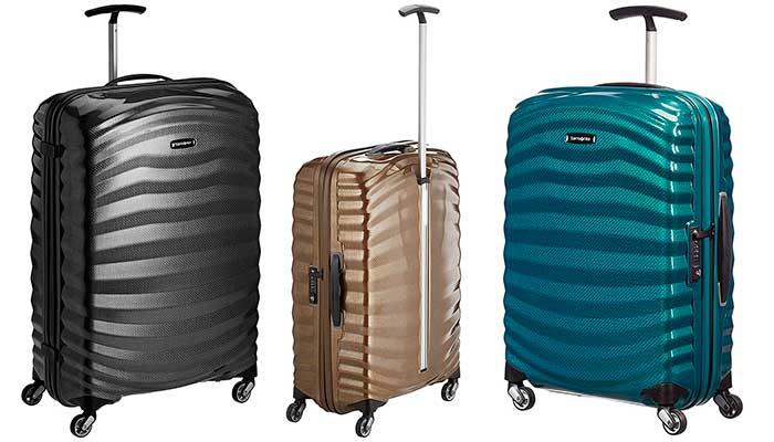 La maleta más ligera y resistente del mercado - Samsonite Lite-Shock