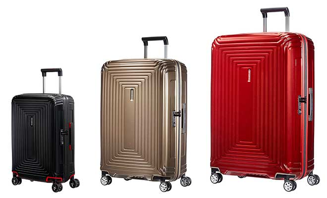 La mejor maleta de policarbonato de Samsonite - Neopulse