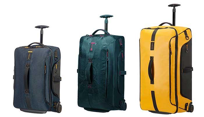 Bolsa de viaje premium con 2 ruedas y gran calidad- Samsonite Paradiver Light