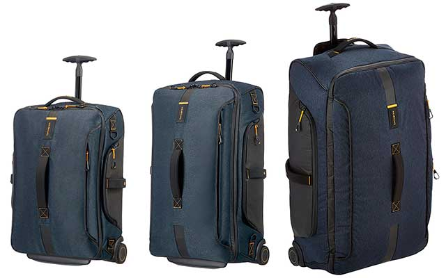 Set de 3 bolsas de viaje con 2 ruedas - Samsonite Paradiver Light