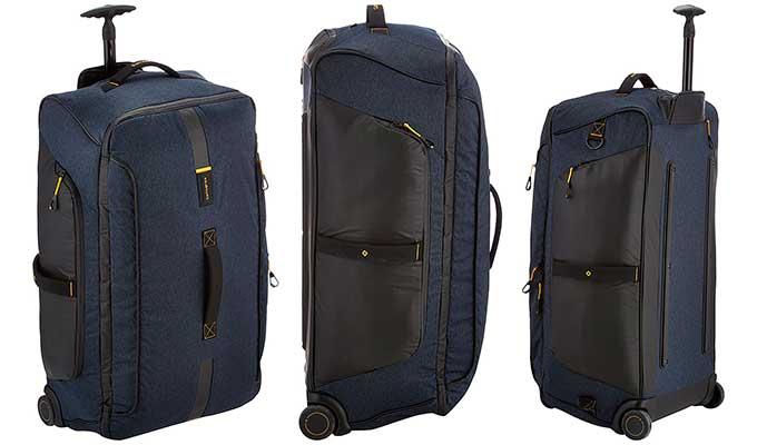 Bolsa de viaje grande con 2 ruedas y de gran calidad - Samsonite Paradiver Light L