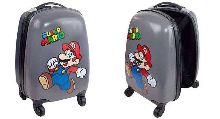 Maleta infantil de Super Mario para niños y niñas