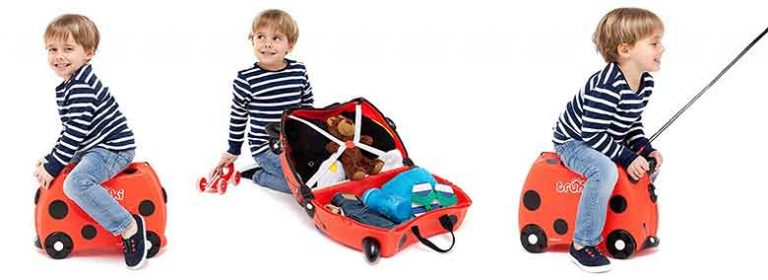 Maleta infantil tipo correpasillos para niños y niñas - Trunki