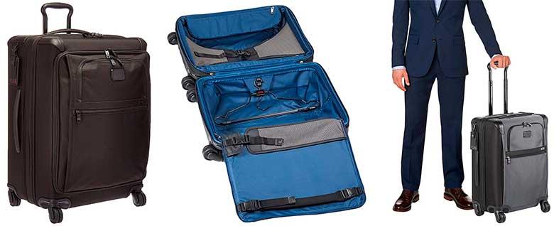 La mejor maleta premium del mercado - trolley de lujo - Tumi Alpha 2