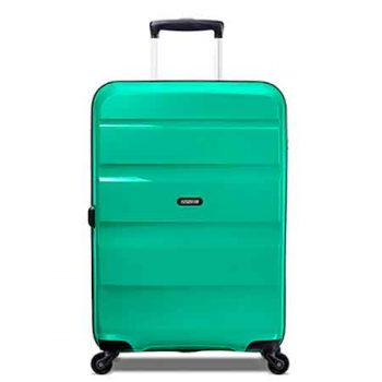 American Tourister Bon Air Spinner Verde - Frontal