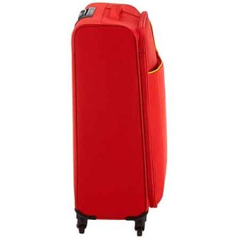 American Tourister Funshine Spinner Roja Lateral