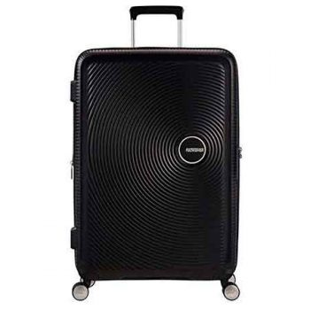 American Tourister Soundbox Negra Frontal