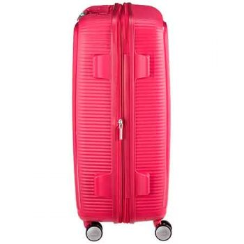 American Tourister Soundbox Roja Lateral