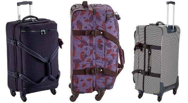 Bolsa de viaje con 4 ruedas y diseños juveniles y originales - Kipling Cyrah
